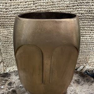 Vase en laiton