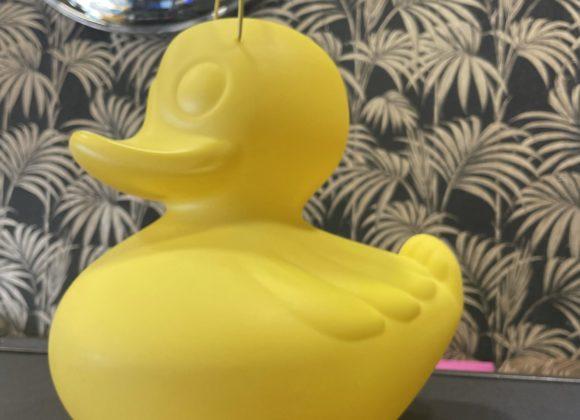Duck lampe petit modèle yellow
